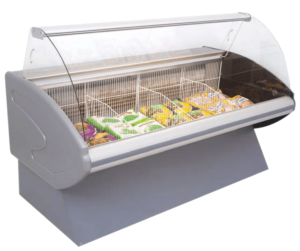deli display freezer