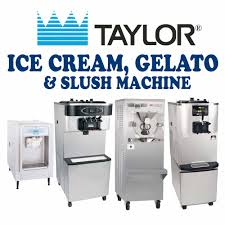 taylor ice cream machines