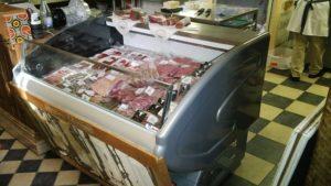 meat case deli low glass