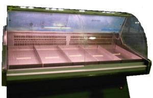meat case deli display fridge