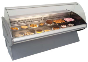 pastry cabinet refrigerated