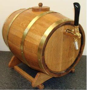 barrel beer dispenser