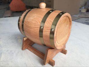 Oak Barrel (1 Tap) beer dispenser