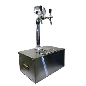 Stainless Box with Metal Tower beer dispenser beer dispenser