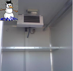 mobile cold rooms, freezers and chillers