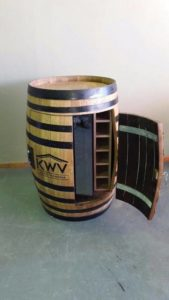 Barrel wine cooler