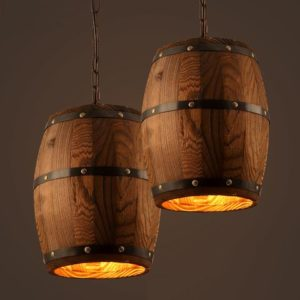 Single Barrel Pendant Light