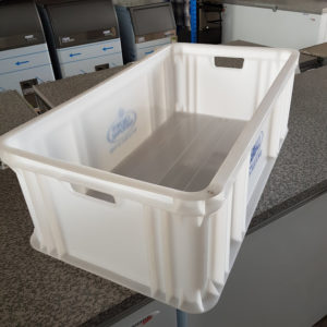 bin to carry ice in bags